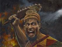 Hawaiian Warrior Niuhi