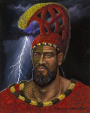 King Kahekili-Nui-Ahu-Manu Maui