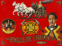 Honolulu Fire Dept Tribute