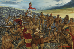 Battle at Kuamoo Manono Kekuaokalani