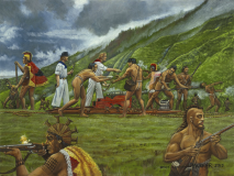 Battle of Iao Hawaiian Cannon Lopaka