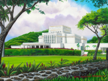 LDS Laie Hawaii Temple Day