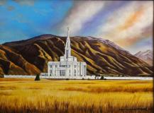LDS Payson Utah Temple