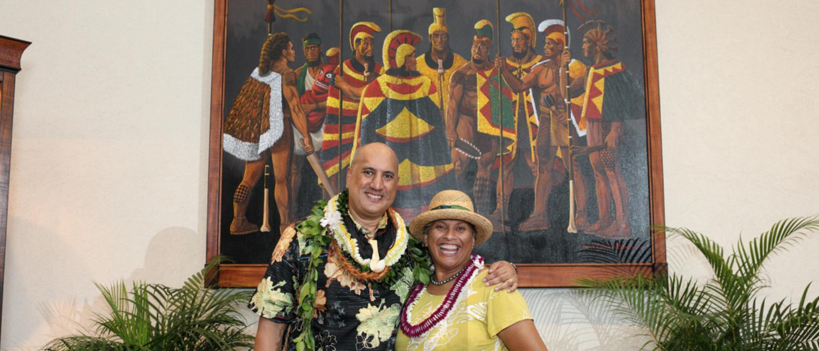 Hawaiian Artist Brook Parker