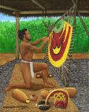 Hawaiian Feather Worker