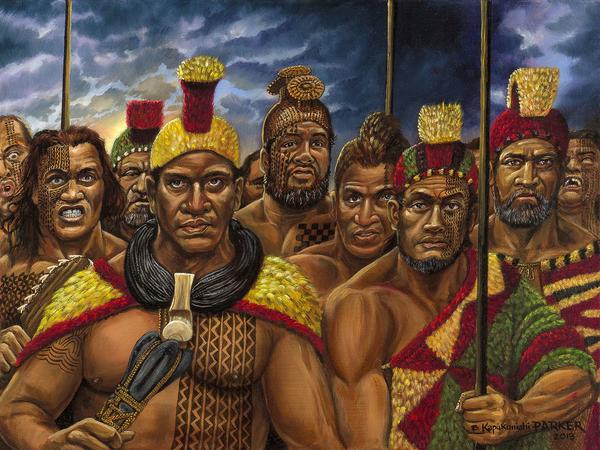 Hawaiian Alii Warriors