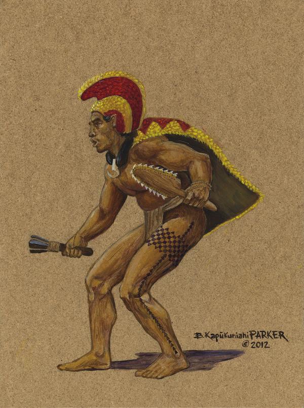Hawaiian Crouching Chief