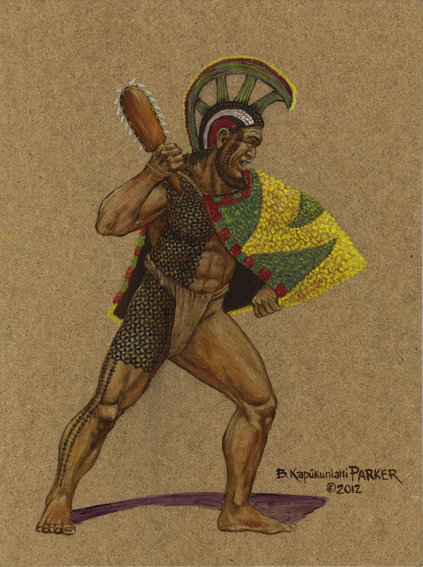 Hawaiian Green & Yellow Cape Chief