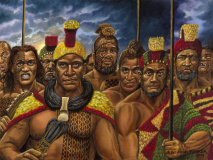 Hawaiian Alii Warriors