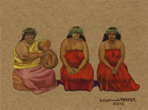 Edith Kanakaole and Daughters Pua & Nalani Hula