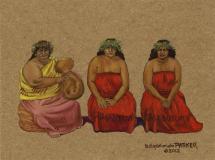 Edith Kanakaole and Daughters Pua & Nalani Hula