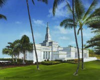 LDS Kona Temple